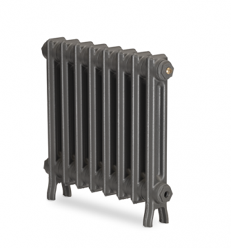 Wilberforce 2 column cast iron radiator - 490mm high