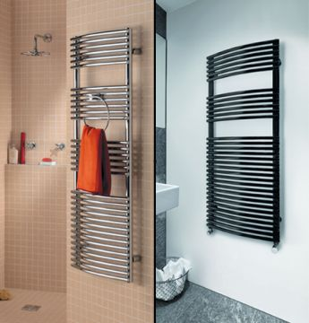 Robin bow-fronted towel rail collage copy