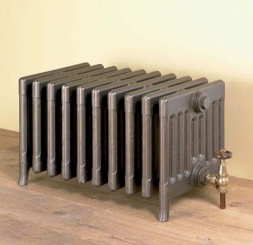 Victorian 9 radiator in Old Bronze