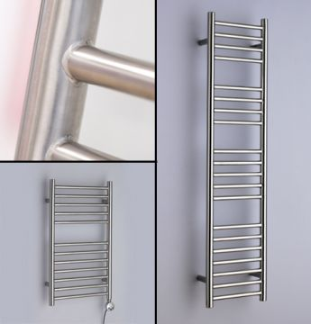 Alpine straight towel rails collage