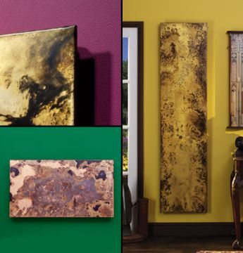 Arteplano designer radiator collage