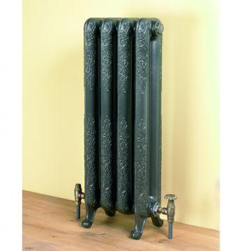 Burlington ornate cast iron radiator