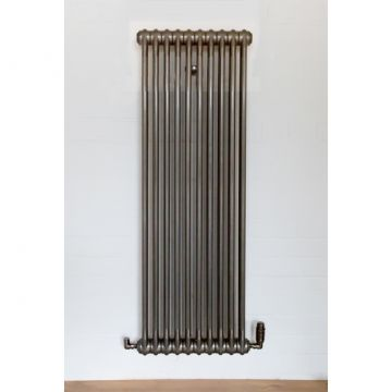 Core bare metal radiator - 1.5m high