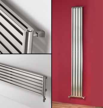 Cutler stainless steel radiators