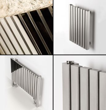 Harlem stainless steel radiator collage
