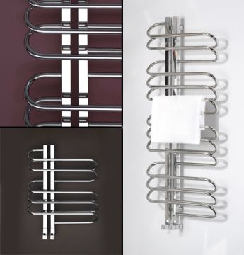 Orbit towel rails collage