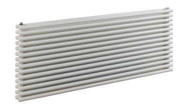 Tutti horizontal double tubed radiator