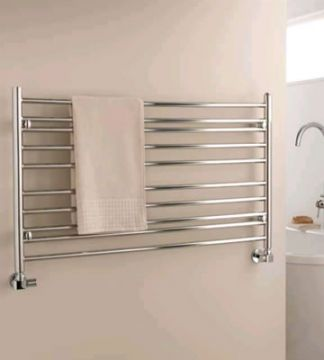 Iris clearance stainless steel towel rail